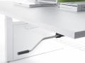 Mikomax Balance bureausysteem werkplek met zwengel