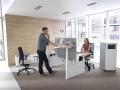 Zit-sta bureau en ander meubilair