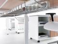 Mikomax Flexido werkplek onderkant