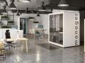 Mikomax Flexido kantoor met belcabine