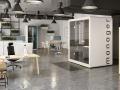 Bureaus en werkcabines