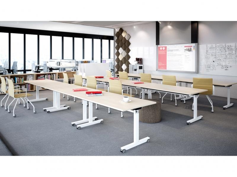 Mikomax Flipper tafel school klaslokaal verrijdbaar