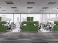 Mikomax Futuro bureaus met afscheidingswanden voor ongestoord overleg en werken