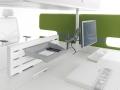 Mikomax Futuro bureausysteem voor onafgeleid werken