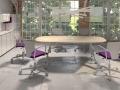 Mikomax Mirage vergadertafel vergaderruimte