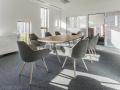 Luxe vergaderen vergadertafel