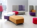 Mikomax Penta Soft seating modulaire zitbanken wachtruimte