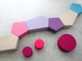Mikomax Penta Soft seating modulaire zitbanken