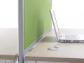 Mikomax Primo bureau met scheidingswand voor minder overlast en storing