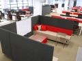 Mikomax Quadra soft seating akoestische scheidingswanden onafgeleid vergaderen werken