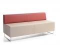 Mikomax Quadra soft seating modulaire zitbank rugleuning