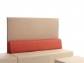 Mikomax Quadra soft seating modulaire zitbank