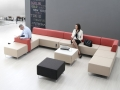 Mikomax Quadra soft seating wachthal foyer hotellobby terminal