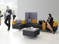 Mikomax Quadra soft seating wachtruimte terminal foyer lobby