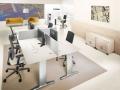 Mikomax S-Wall stilte werkplekken gescheiden