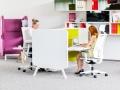 Zit-sta bureaus kantoor