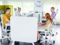 Werkplekken zit-sta bureaus