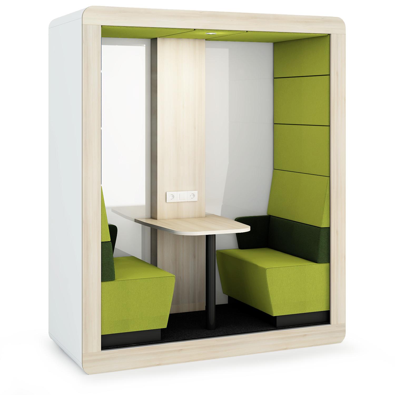 Mikomax-Hush-werkplek-groen