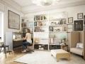 Zit sta werkplek Mikomax Nest woonkamer thuis