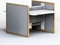 Mikomax Stand zit-sta bureau Ram